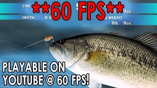 [60 FPS] Dolphin Emulator 4.0-4672 | Top Angler: Real Bass Fishing [1080p HD] | Nintendo GameCube