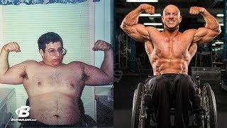 Бодибилдер в инвалидном кресле | История восхождения Ника Скотта + Мотивация