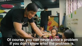 ONE Championship & Global Citizen | Eduard Folayang Helps Locals Escape Poverty