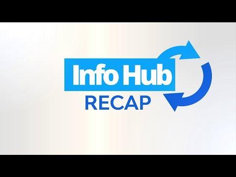 Info Hub Recap - Monday, May 21 – Friday, May 25, 2018.