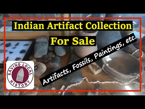 Indian Artifact Collection FOR SALE