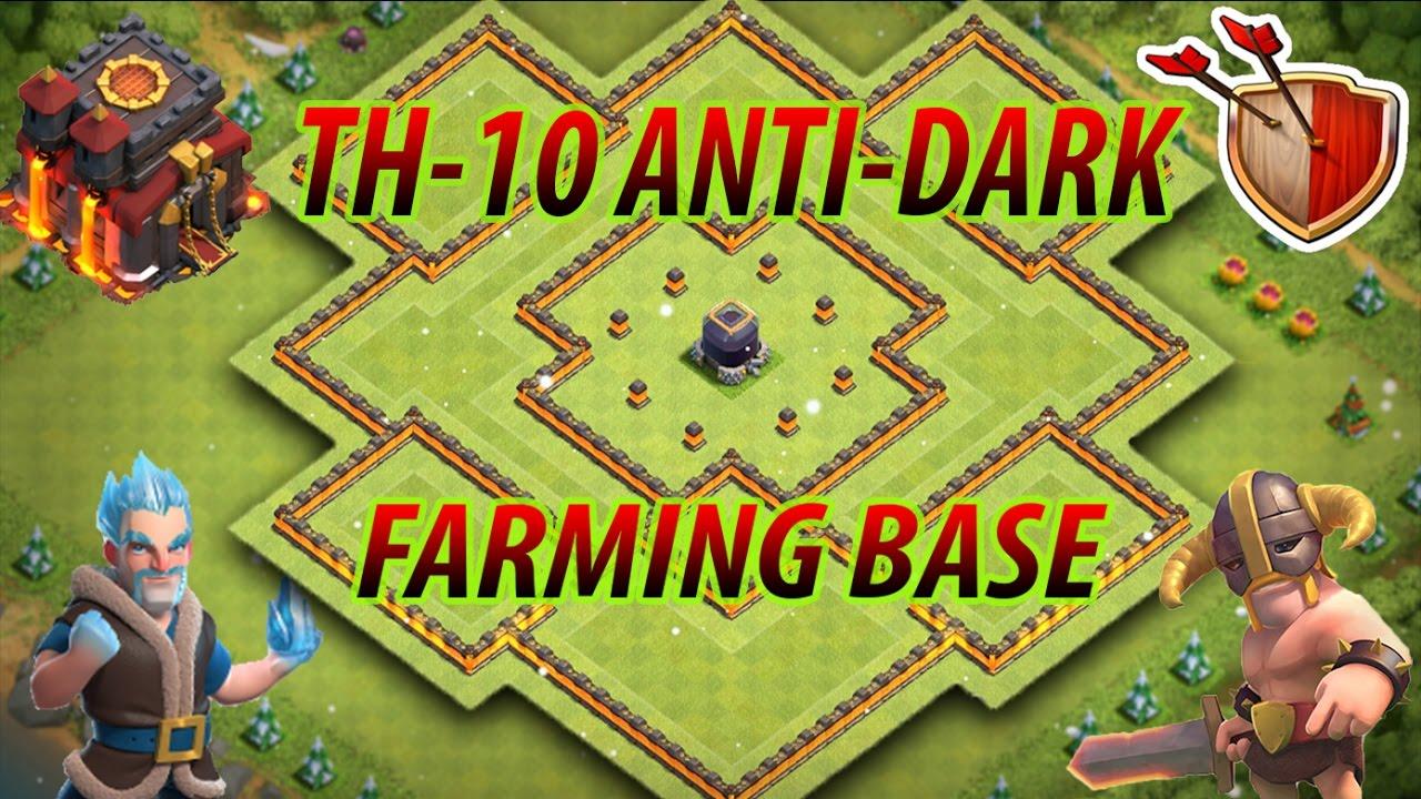 Base Coc Th 10 Anti Loot 8
