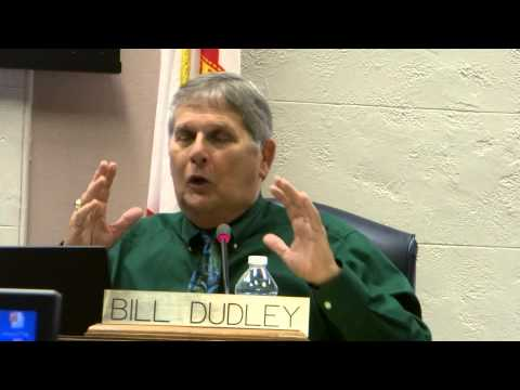 "Bill Dudley - Lens Funding Vote- ""Some people don"