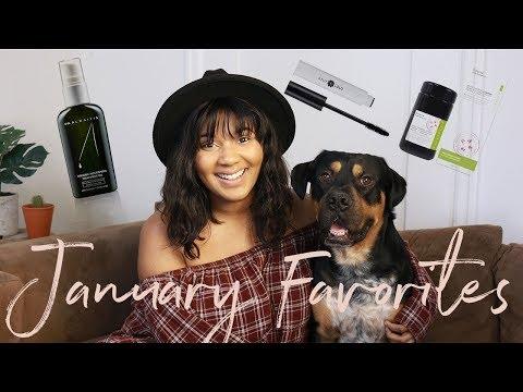 January Favorites 2018 | Natural Beauty, Organic Skincare & Vegan Fashion