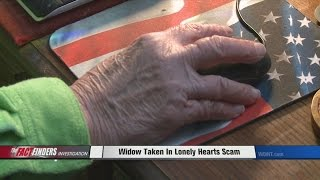 Widow Taken In Lonely Hearts Scam