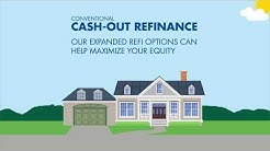 Conventional Cash Out Mortgage Refinancing