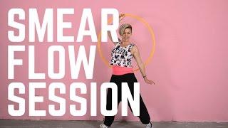 Smear Flow Session Hoop Dance Tutorial