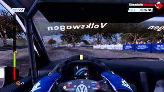 WRC 4 FIA World Rally Championship Gameplay VolksWagen Polo PC/HD 7750 (Comentariu In Romana)