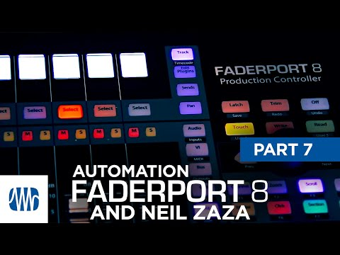 PreSonus—Neil Zaza on the Faderport 8 Part 7: Automation