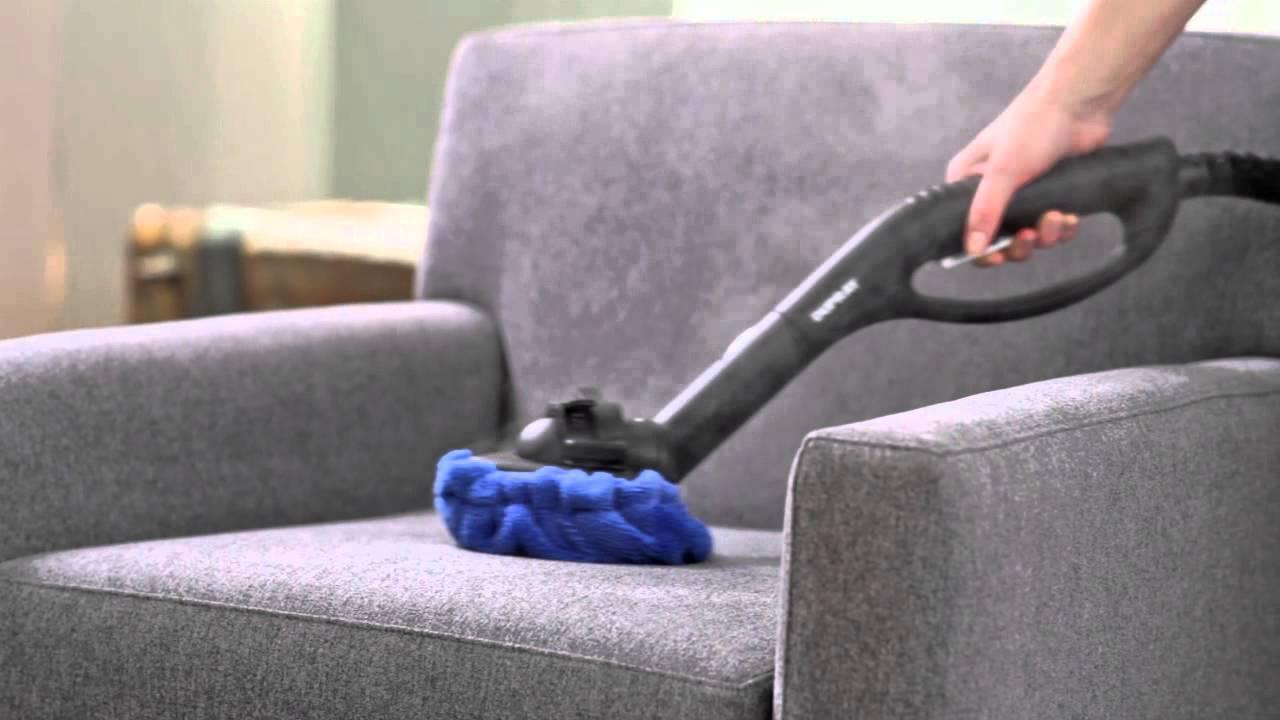 Verwendung eines Dampfreinigers zur Reinigung von Möbeln und ...