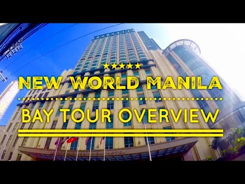 New World Manila Bay Full Tour and Overview 2016 by HourPhilippines.com