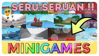 "Roblox Indonesia | ""Minigamesnya Bikin Nagih"" | Epic Minigames"