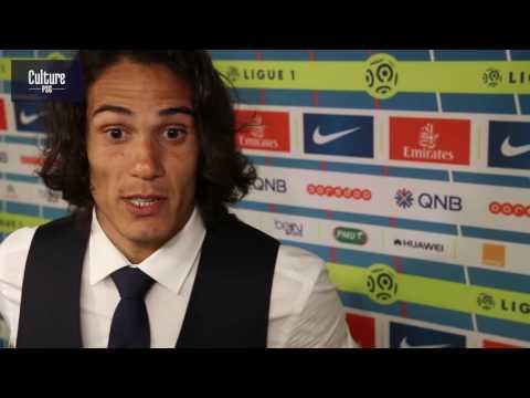 PSG-Metz (3-0) : Cavani, Thiago Motta, David Luiz, Lucas et Kurzawa en zone mixte