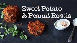 Sweet Potato And Peanut Rostis | Abel & Cole