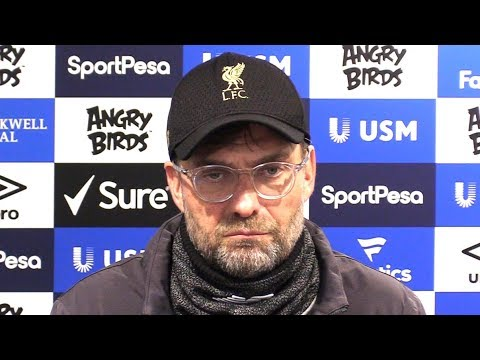 Everton 0-0 Liverpool - Jurgen Klopp Full Post Match Press C