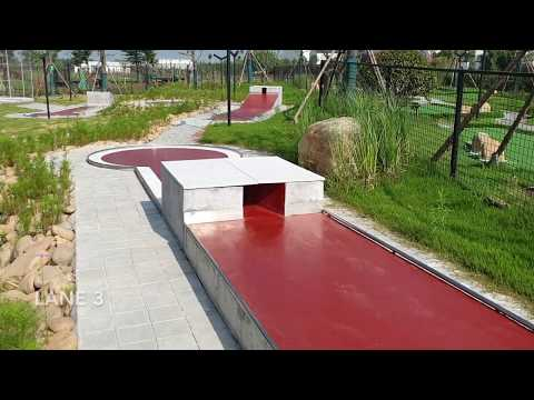 Full Course Walkthrough Concrete Lane 1-18 (Minigolf World Championships 2019)