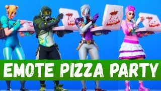 FORTNITE - EMOTES RAGE QUIT, PIZZA PARTY, TACO TIME + SKINS Patch 10.30