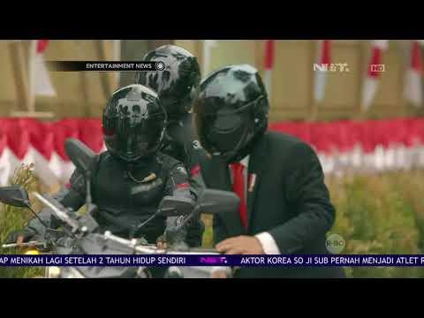 Jokowi Menyoroti Stuntman Dirinya Di Asian Games 2018