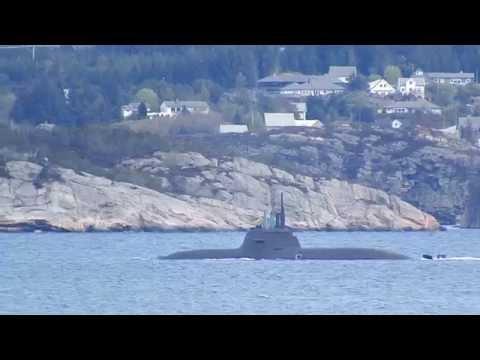 U33 - S183 - German Type 212 class, - Hjeltefjorden - From Rongesundet