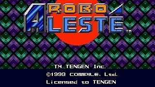 Mega-CD Longplay [057] Robo Aleste