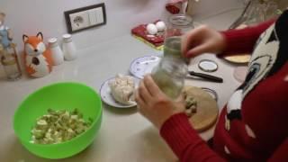 """#Рецепт салата на Новый год - салат ,,Сытый гость""""."""