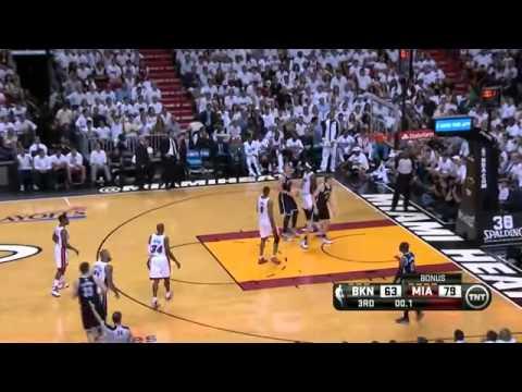 Brooklyn Nets 86 x 107 Miami Heat Game 1 Playoffs semifinais NBA 2013/2014
