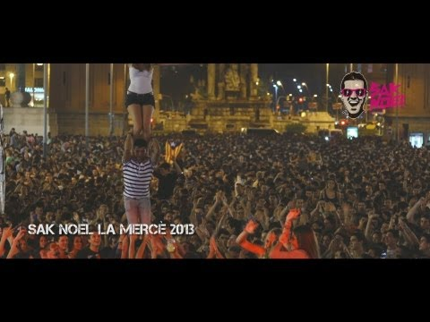 Sak Noel Crazy World Special - La Merce 2013 (Barcelona, Catalonia)