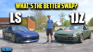 homepage tile video photo for 1JZ vs LS - What's the Better Engine Swap? (In Depth Comparison)