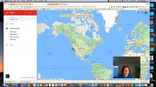 Google My Maps Part 11: KML/KMZ Files Free HD Video