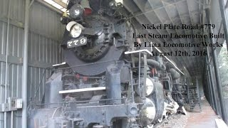 Nickel Plate Road 779: Last Steam Locomotive Built by Lima Locomotive Works