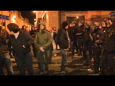 Evacuation squat 141 rue de Charonne / Paris 05 novembre 2012
