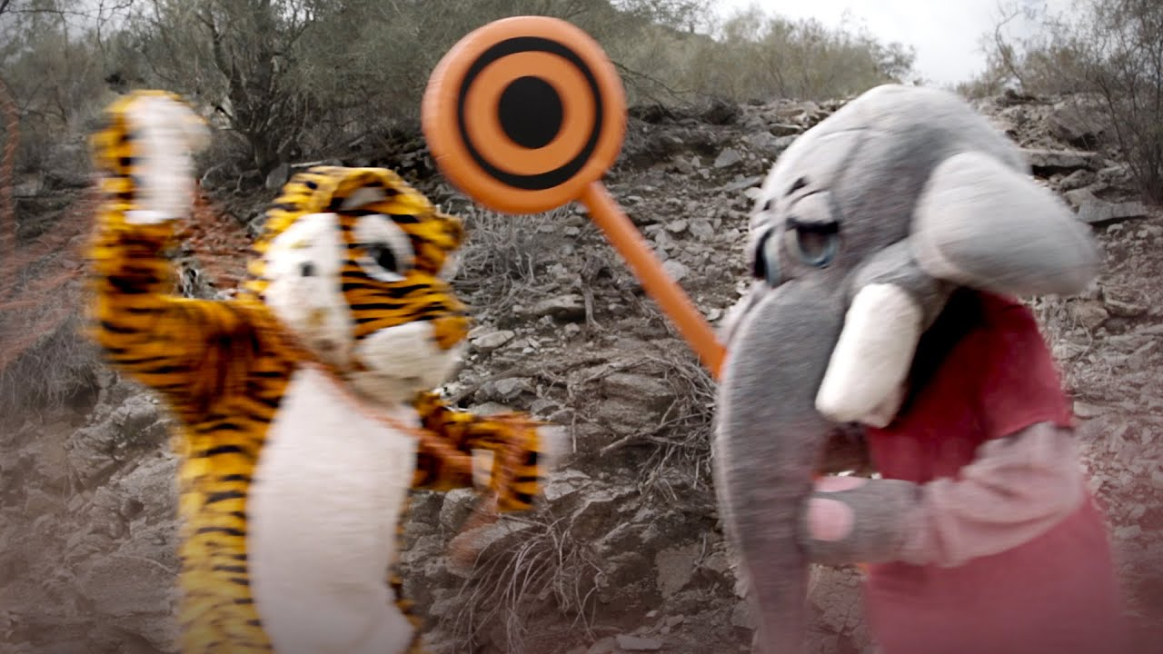 Exclusive mascots footage Alabama