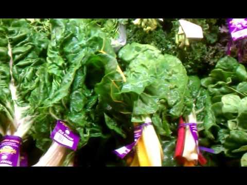 Fresh Organic Greens at Dan's Fresh Produce