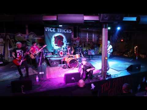 Pink Vultures perform