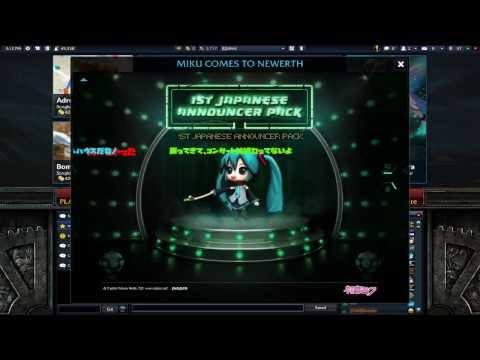 Hatsune Miku - Ievan Polkka (leek song) - HoN 720p HD