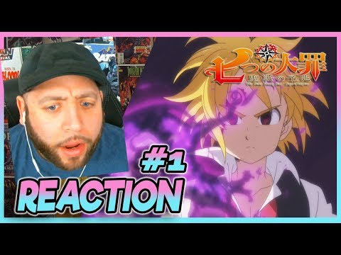 "Seven Deadly Sins Signs Of The Holy War Episode 1 REACTION ""The Dark Dream Begins"""