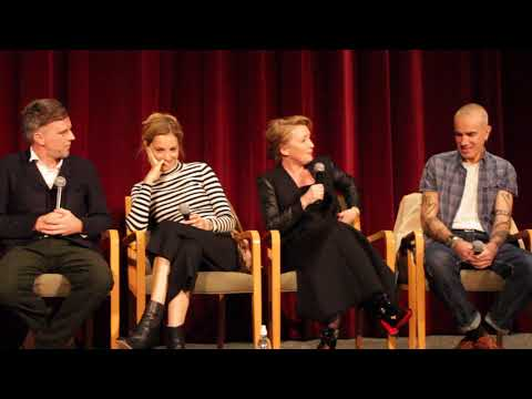 Phantom Thread NY Q&A with Paul Thomas Anderson, Vicky Krieps, Lesley Manville, and Daniel DayLewis