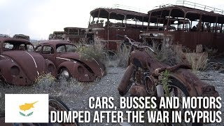 Urbex | 400 vehicles dumped at a Military Base in Cyprus