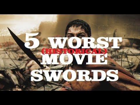 5 Worst Movie Swords (Historical)