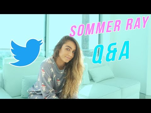 ASK ME ANYTHING! Q&A with Sommer Ray - Giveaway Announcement!!!