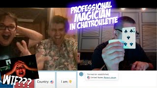 CHATROULETTE - FUNNY MAGIC TRICKS ADIL KAIPOV 2020. Professional magician in chatroulette