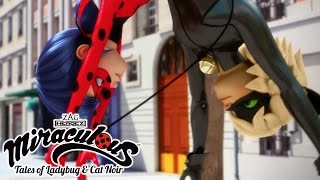 Miraculous Ladybug   🐞 Ladybug and Cat Noir Origins Part 1 🐞   Ladybug and Cat Noir   Animation