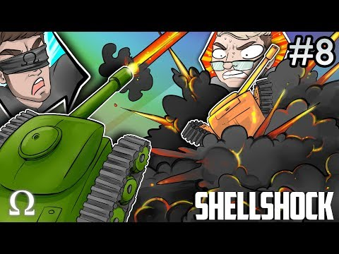 MAKING MINILADD GO BOOM! | Shellshock Live Multiplayer #8 Ft. Kryoz, Jiggly, Mini, Brian