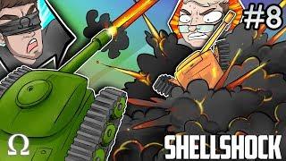 MAKING MINILADD GO BOOM!   Shellshock Live Multiplayer #8 Ft. Kryoz, Jiggly, Mini, Brian