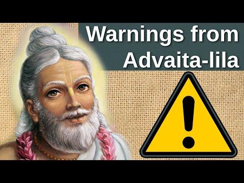 2018-01-24, CC 1.12.66, Warnings from Advaita-lila, Salem, Tamil Nadu, India