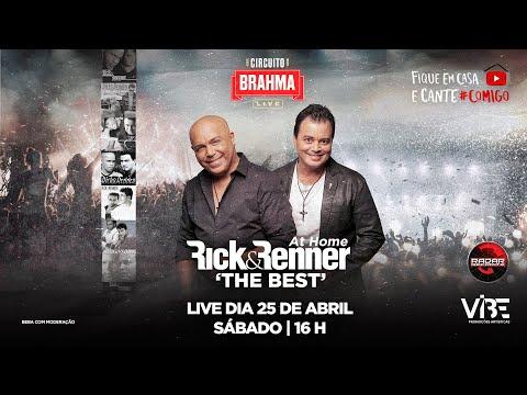 LIVE SHOW (AO VIVO) - RICK E RENNER #COMIGO #BRAHMALIVE