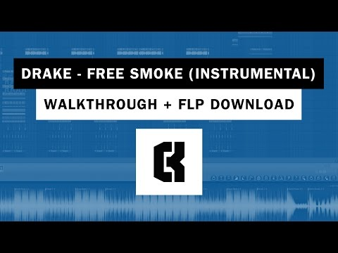 Drake - Free Smoke (Instrumental Edit/Remake) [WALKTHROUGH + FLP]