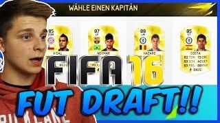 FIFA 16 FUT DRAFT (DEUTSCH) - ULTIMATE TEAM - IBARBO,GERVINHO,LACAZETTE - FIFA 16 GAMEPLAY