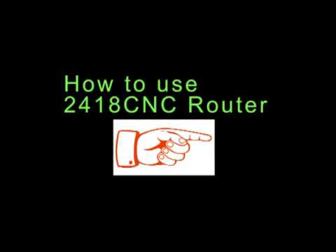 Bachin CNC-2418 Software-Candle Use Tutorial