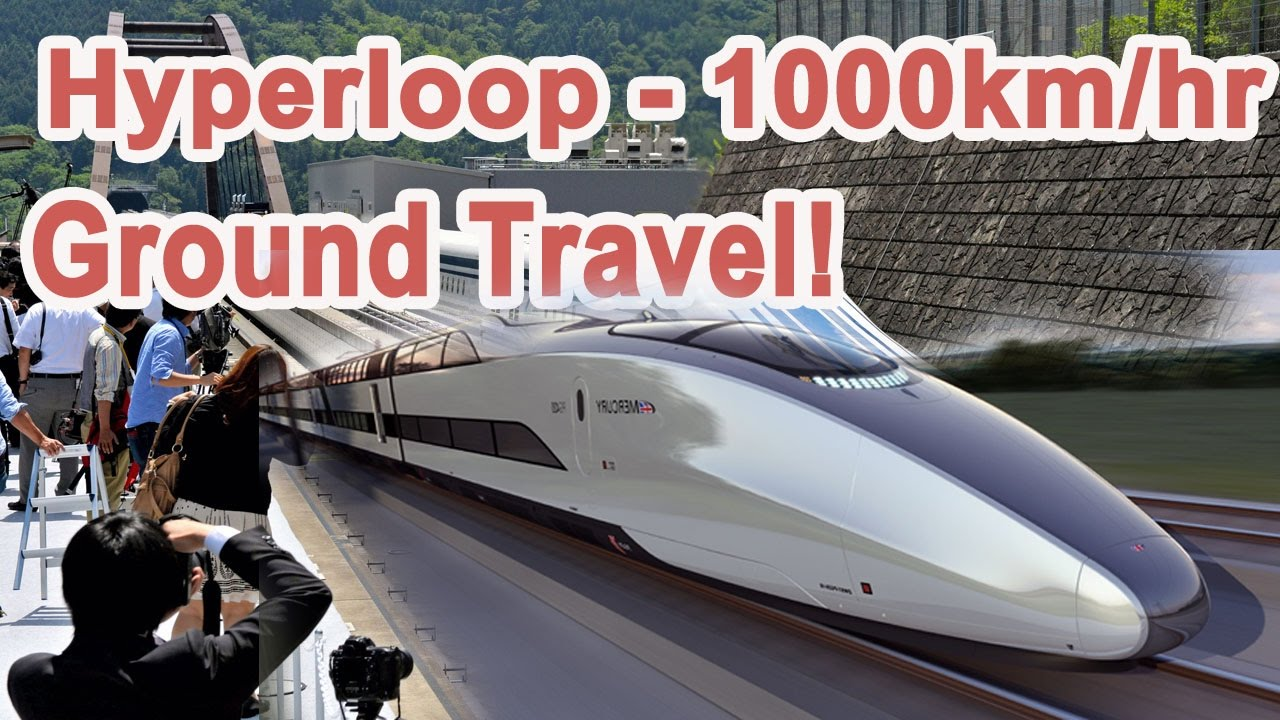 Hyperloop Train - 1000km/hr - YouTube